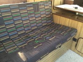 Rock & Roll Rear Bench seat